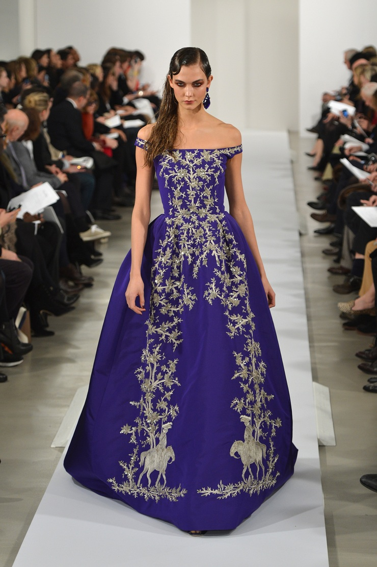 New York Fashion Week: Oscar de La Renta 161603818