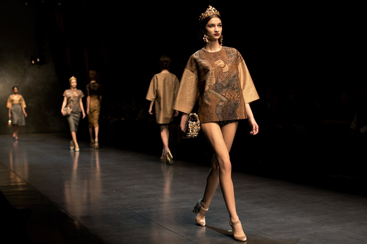 Milan Fashion Week: Dolce & Gabbana DG0496web