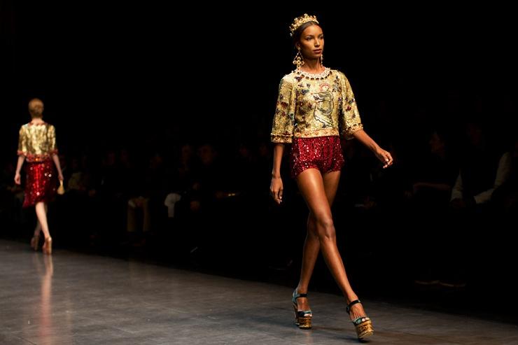 Milan Fashion Week: Dolce & Gabbana DG0683web