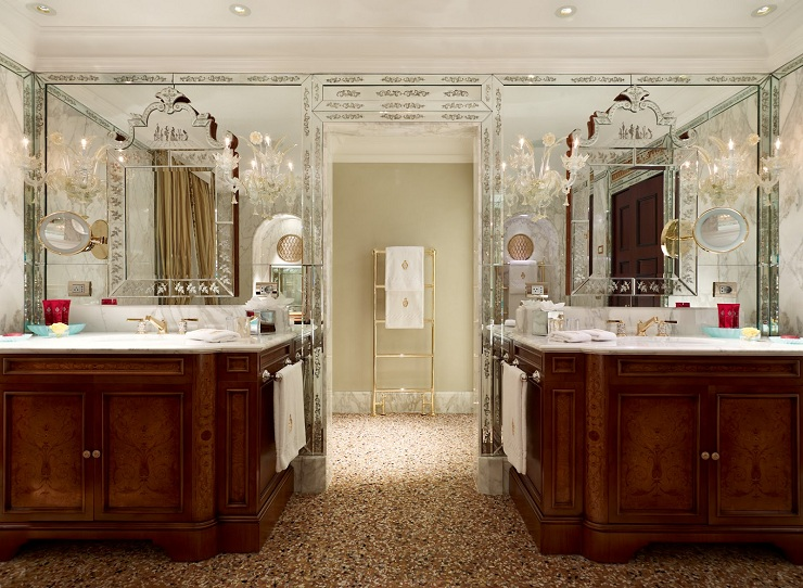 Il Prestigio di Hotel Danieli Venezia Danieli Suite del Doge Bathroom