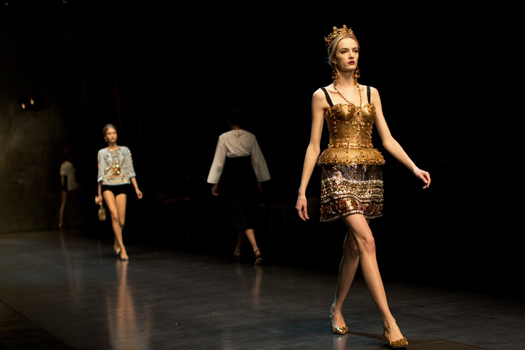 Milan Fashion Week: Dolce & Gabbana Dg0595web