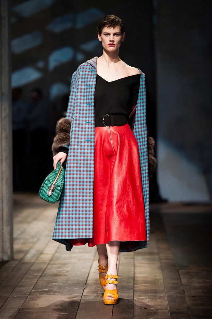 Milan Fashion Week: Prada desfile prada inverno2014 162