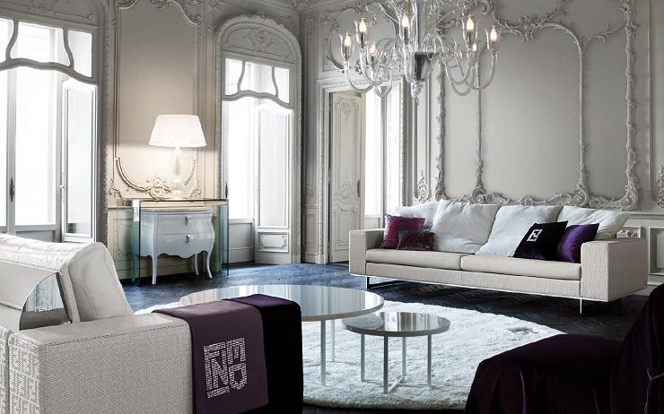 Fendi Casa: atmosfere eleganti fendi casa Fendi Casa: atmosfere eleganti living room furniture fendi