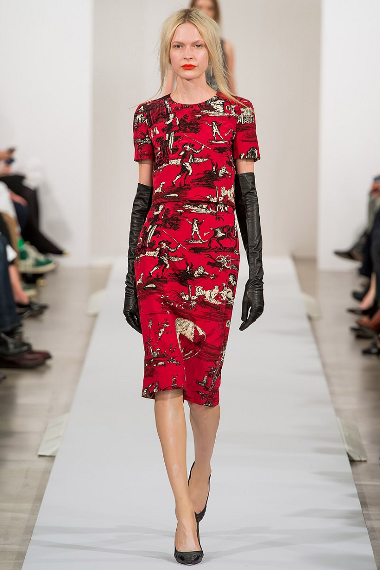 New York Fashion Week: Oscar de La Renta oscar de la renta rtw fw2013 runway 12