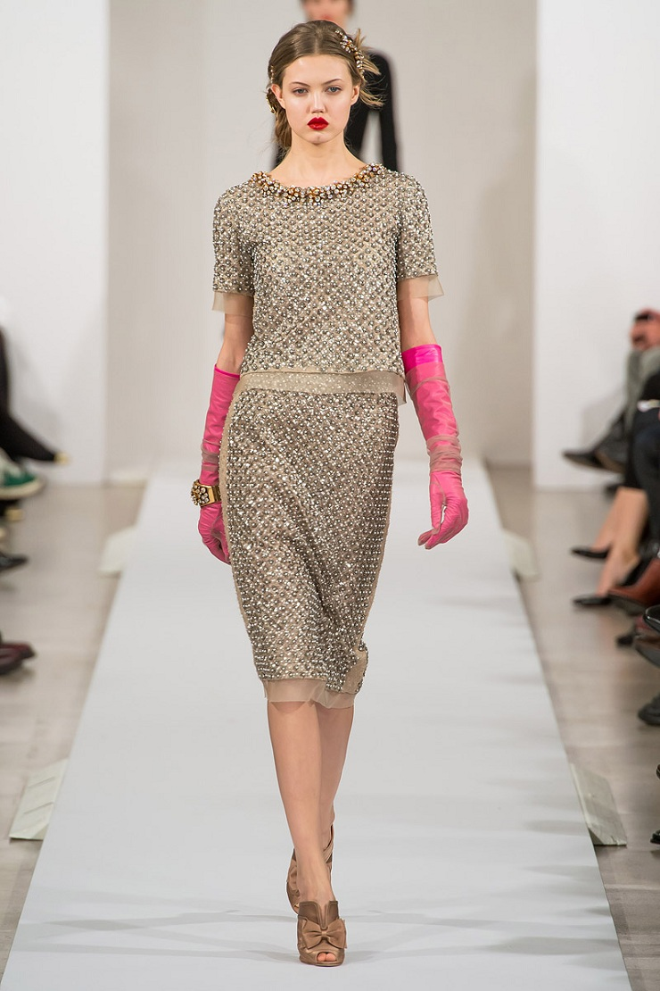 New York Fashion Week: Oscar de La Renta oscar de la renta rtw fw2013 runway 13