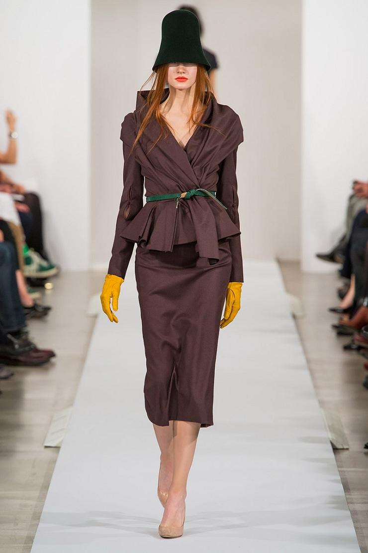 New York Fashion Week: Oscar de La Renta oscar de la renta rtw fw2013 runway