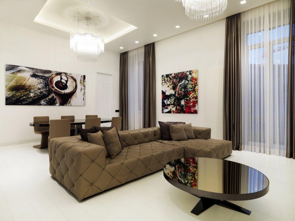Daniela colli roma casa privata spazi di lusso - Comment decorer un salon moderne ...