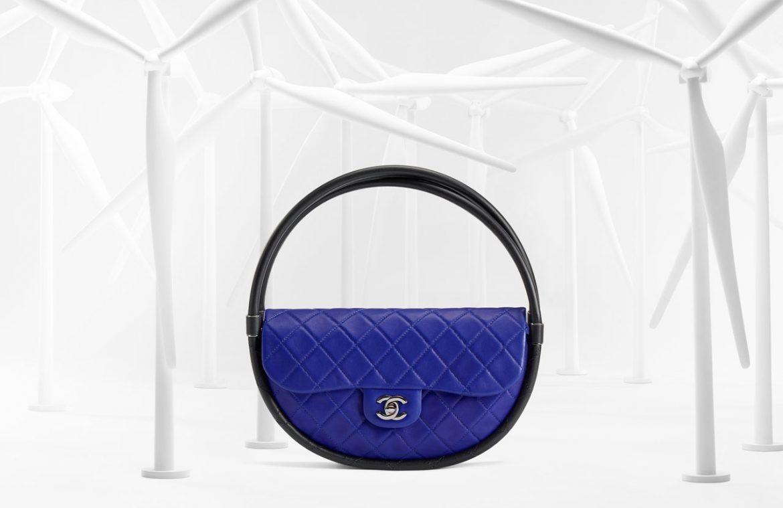 Chanel Hula Hoop blu  Chanel Hula Hoop bag Chanel Hula Hoop blu