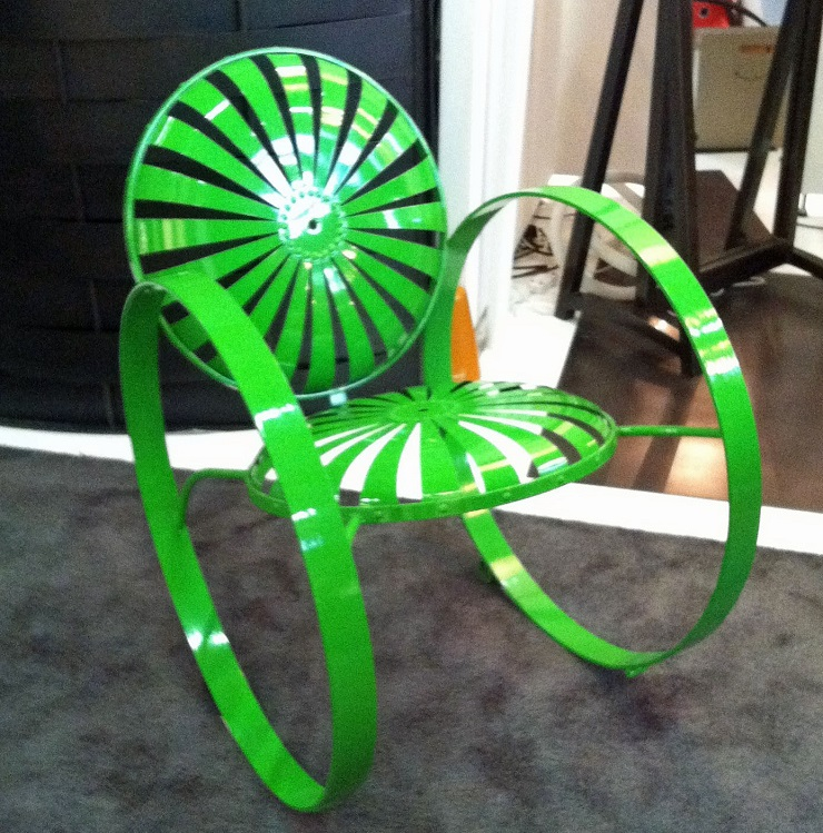 AD Home Design Show 2013 spring chair craft fabricators2