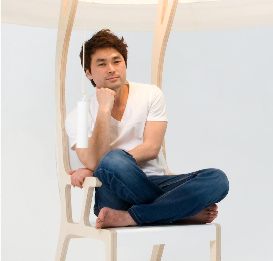 Seung-Yong  Progettisti del Futuro, W Designer, Il Salone del Mobile 2013 Seung Yong Song portrait low