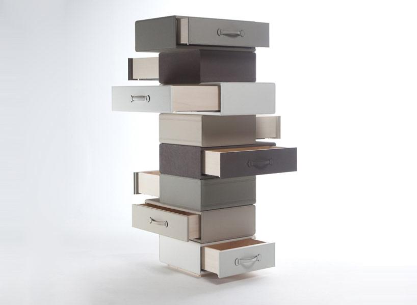 la collezione evoca atmosfere di lusso e sofisticato  Borse in pelle Maarten Ceulaer per Nilufar maarten de ceulaer nilufar 2