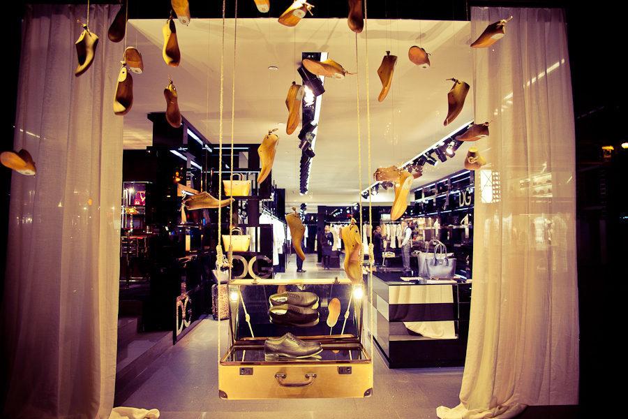 Saks Fifth Avenue exibe D&G i Koket  Saks Fifth Avenue exibe D&G i Koket IMG 2466