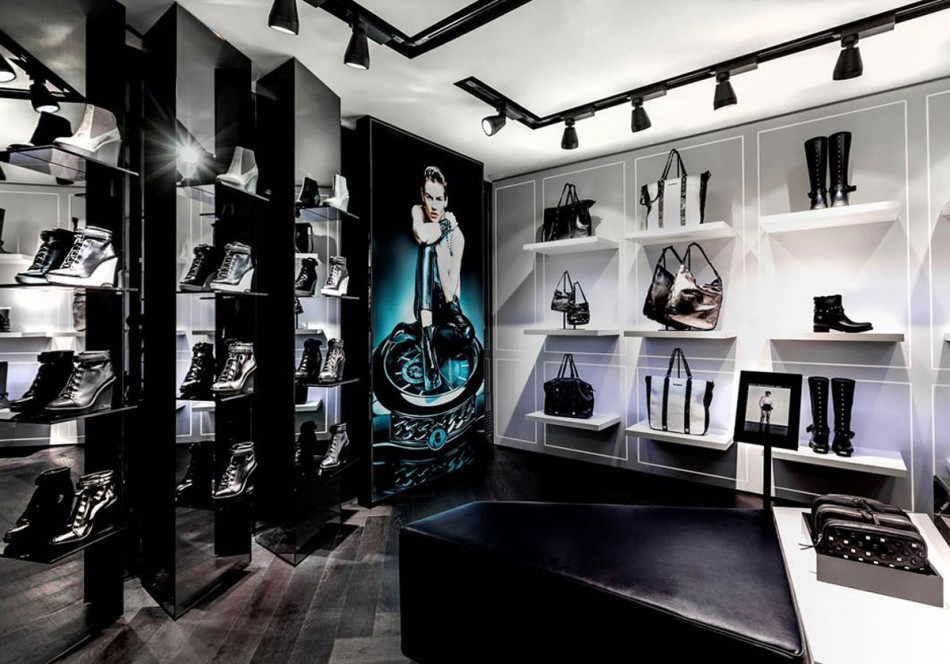 Karl Lagerfeld's First Concept Store Opened in the Heart of Paris  Lista Hot collezione resort 2014, Gucci, Roberto Cavalli, Max Mara Karl Lagerfeld boutique in Paris 2 e1370028927585