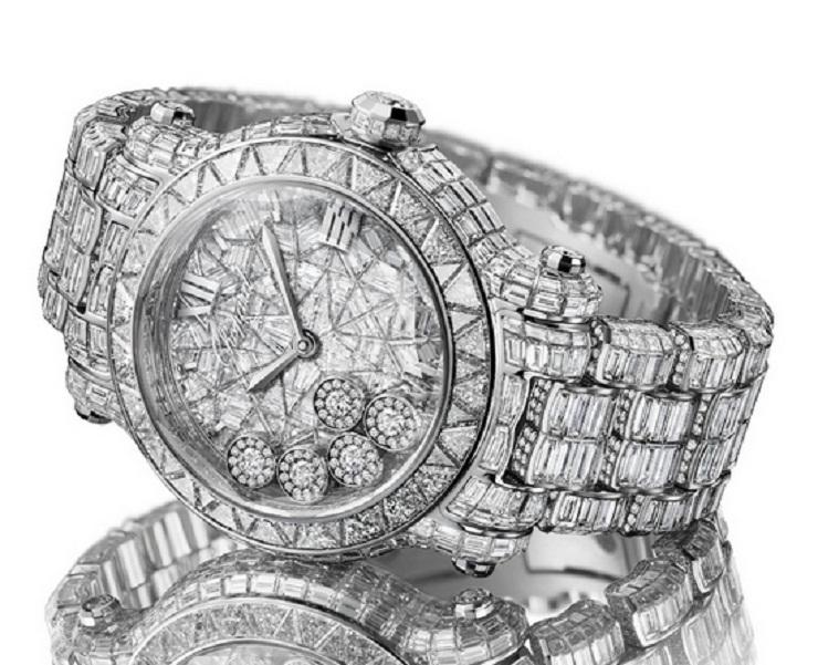 Chopard Happy Sport Diamantissimo  Chopard lancia in edizione limitata a Cannes Festival 2013 chopard happy sport diamantissimo watch