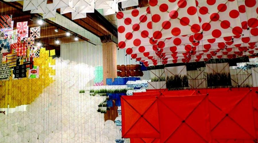 venice-art-biennale-jacob-hashimoto-gas-giant  Arte Biennale di Venezia 2013, migliori mostre della settimana 957f68251a4c401eb034febbf0fc418f XL