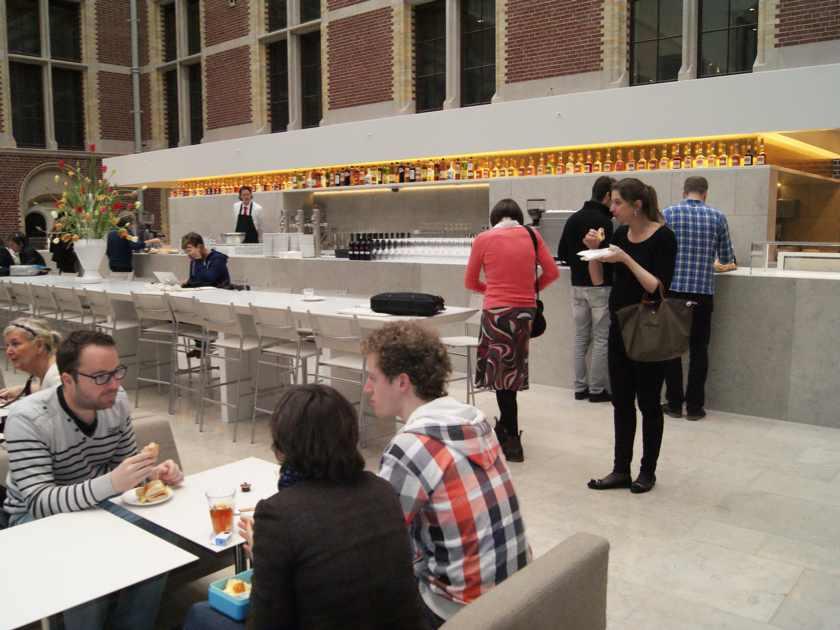 Rijksmuseum cafe, Amsterdam  Principali destinazioni di Giugno 2013 Rijksmuseum