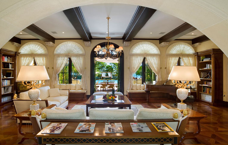Ecc le piu lussuosi ville del mondo spazi di lusso for Arredamenti interni case di lusso