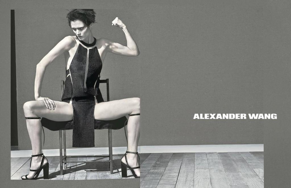 Alexander Wang 2012 collezione  Alexander Wang intervista Oscar de La Renta, CFDA awards 2013 alexander wang ss13 02