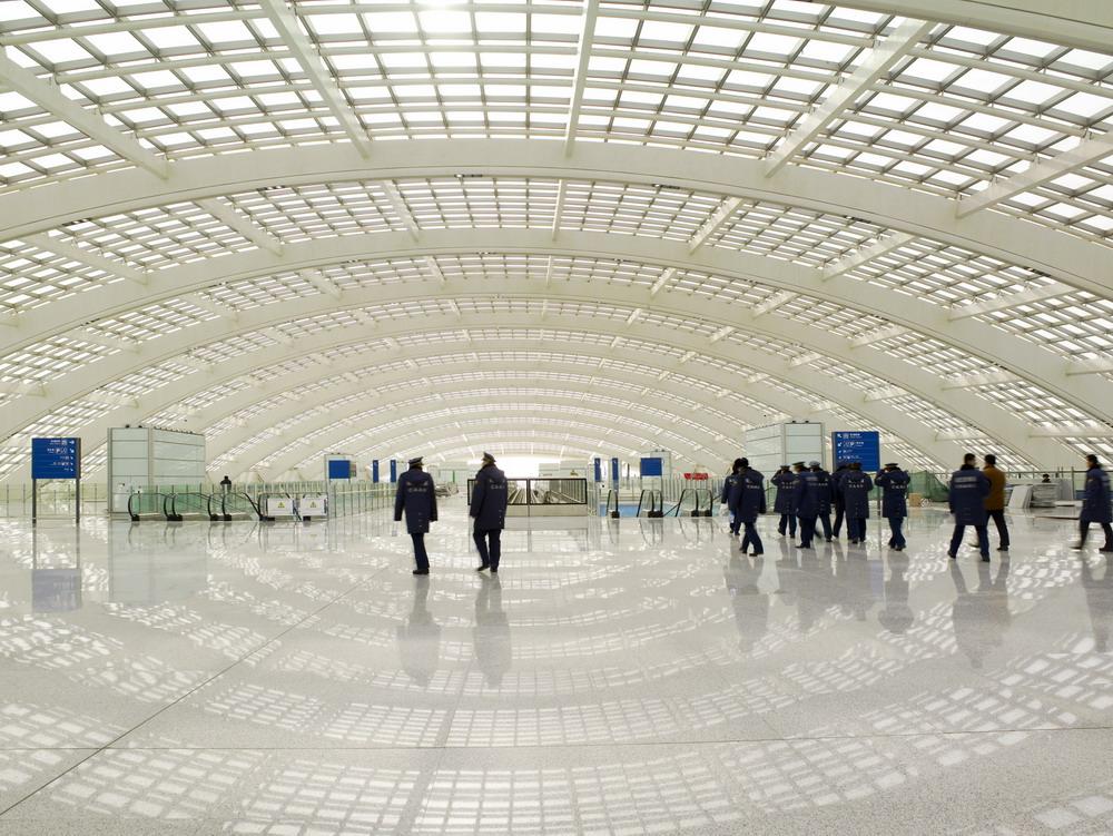 Beijing airport Norman Foster Felice 78 ° Compleanno Sir Norman Foster beijing airport