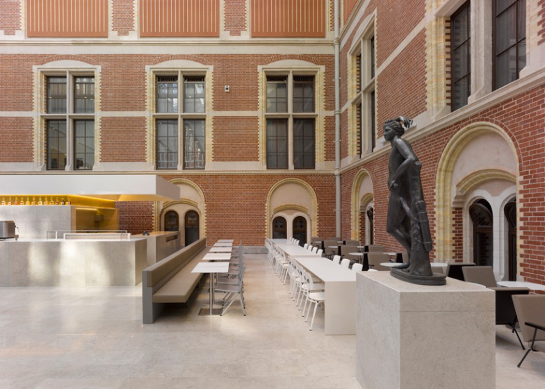 Rijksmuseum cafe, Amsterdam  Principali destinazioni di Giugno 2013 dezeen Rijksmuseum Cafe by Studio Linse ss 1