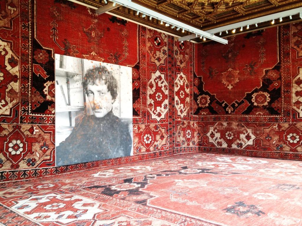 Rudolf Stingel Covers Venice's Palazzo Grassi In Carpet  Arte Biennale di Venezia 2013, migliori mostre della settimana rudolf stingel 1024x768