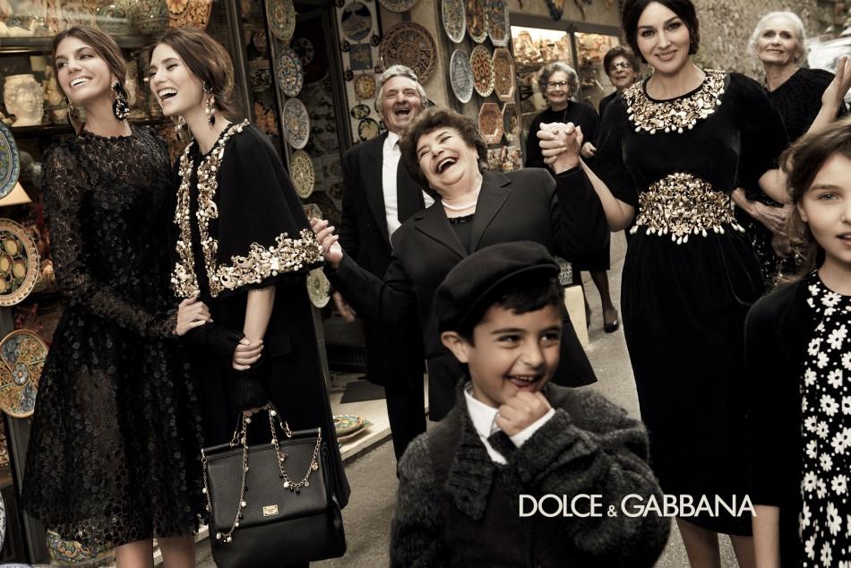 Le 10 campagne di stagione Autunno / Inverno 2013 Dolce Gabbana Collezione 2013 e1374666078282