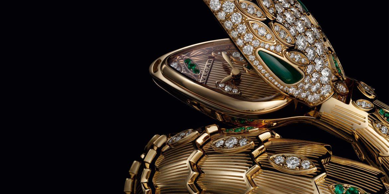 Collezione di alta gioielleria BVLGARI Serpenti High Jewelry collection