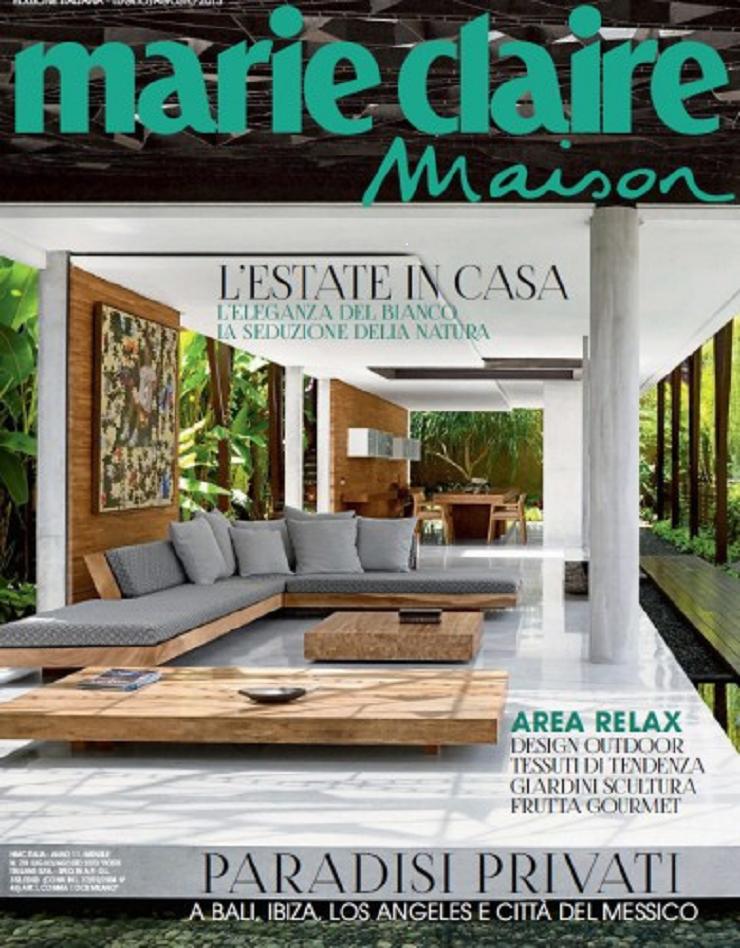 Top Riviste Italiane di Interior Design e Moda marie claire maison italia luglio agosto 2013