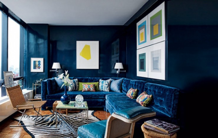 """""""Lacca, doratura e intarsio""""  Art Deco e Design d'Interni di Lusso Art Deco e Interni Design di Lusso New Navy e1381420189484"""