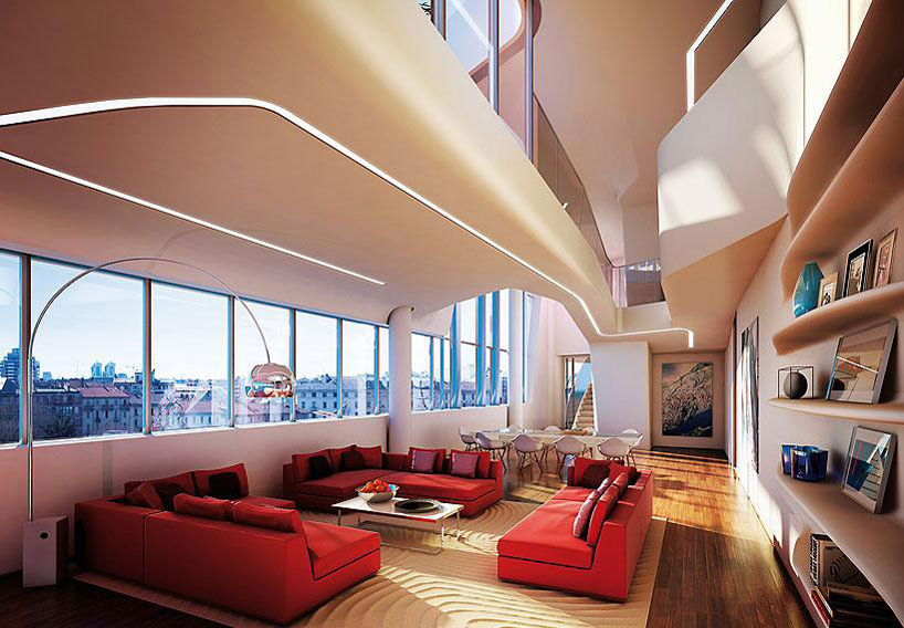 Citylife milano complesso residenziale zaha hadid e - Design d interni milano ...