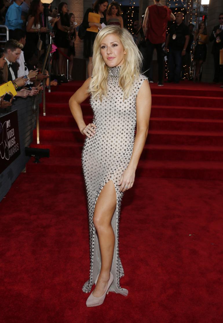 Ogni sguardo di VMA Tappeto rosso 2013  MTV VMA Tappeto rosso 2013 Ellie Goulding Furne One Amato