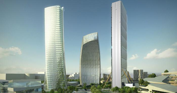 Citylife Milano Complesso Residenziale – Zaha Hadid e Daniel Libeskind citylife milano complesso residenziale zaha hadid e daniel libeskind