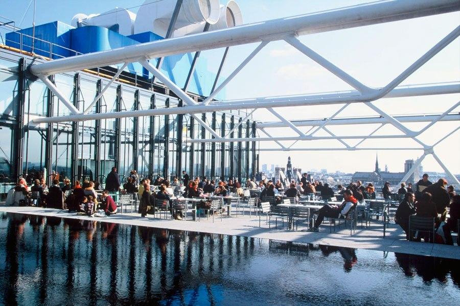 Le 8 migliori bar panoramiche del mondo  Le 7 migliori bar panoramiche del mondo rooftop restaurants bars 04 georges paris pompidou
