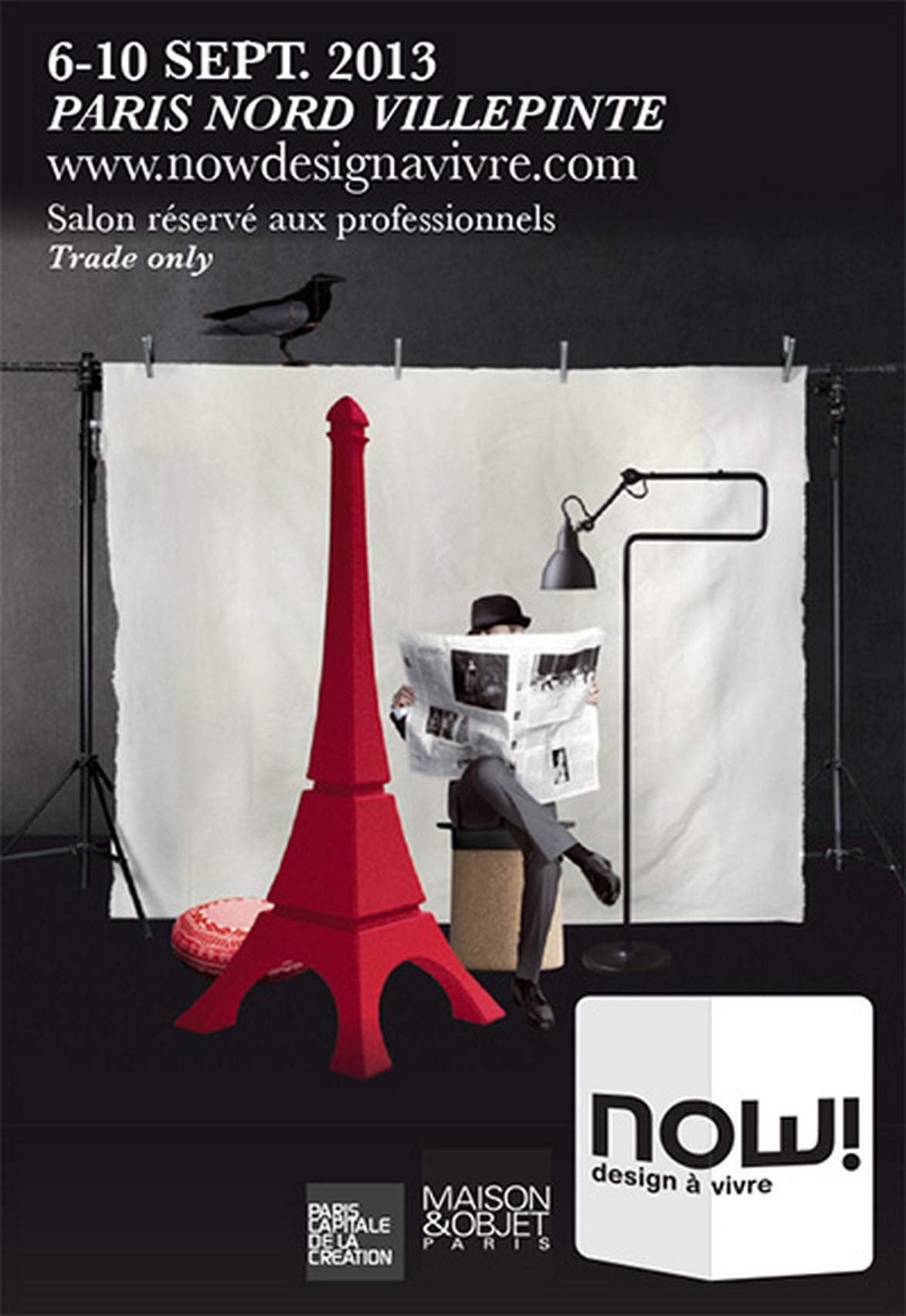 Maison et Objet 2013_settembre_Now desig a la vivre  Maison et Objet 2013, edizione settembre, Now! Design à la vivre Maison et Objet 2013 settembre Now desig a la vivre