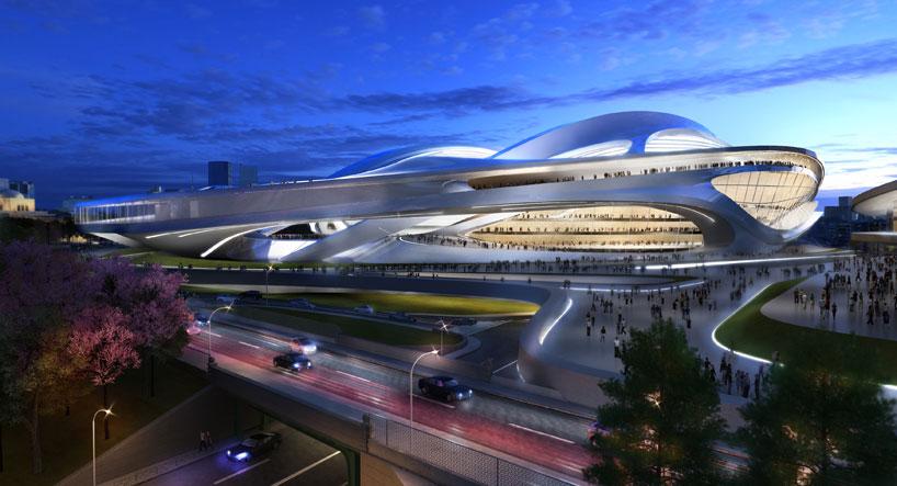 Il Nuovo Stadio Nazionale del Giappone sarà la sede per Tokyo 2020 Giochi Olimpici e Paralimpici. Questo stadio ospiterà le gare di atletica leggera e cerimonie di apertura e di chiusura del Tokyo 2020 Giochi Olimpici e Paralimpici.  Zaha Hadid: nuovo stadio nazionale in Giappone,Olimpiadi Tokyo 2020 zaha hadid new national stadium of japan venue for tokyo 2020 olympics designboom 04