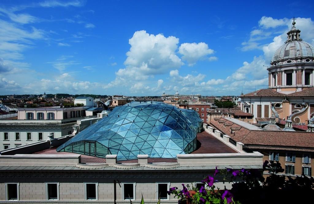 """""""Top Arquitetto la cupola di Fuksas a Roma - Cupola""""  Top Arquitetto: la cupola di Fuksas a Roma Top Arquitetto la cupola di Fuksas a Roma Cupola"""