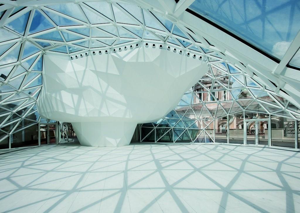 """""""Top Arquitetto la cupola di Fuksas a Roma - geometrie triangolari""""  Top Arquitetto: la cupola di Fuksas a Roma Top Arquitetto la cupola di Fuksas a Roma geometrie triangolari"""