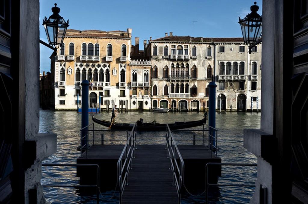 """Private Pier, photo © Aman Canal Grande Hotel, Venice, Amanresorts"" Aman Canale Grande Chi ha bisogno di una gondola a Aman Canale Grande, Venezia? Chi ha bisogno di una gondola a Aman Canale Grande Venezia"