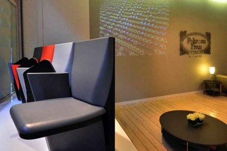 """Design dinamico Zaha Hadid per Poltrona Frau a Milano-Array"""