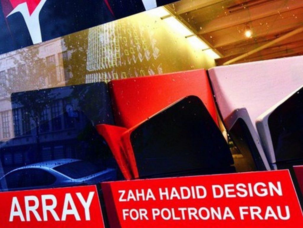 """Design dinamico Zaha Hadid per Poltrona Frau a Milano-Londra Design Festivale""  Design dinamico: Zaha Hadid per Poltrona Frau a Milano Design dinamico Zaha Hadid per Poltrona Frau a Milano Londra Design Festivale"
