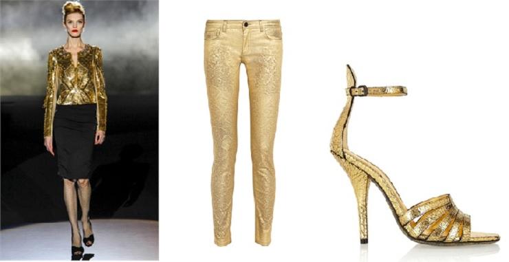 Il trend del giorno: Oro - Moda  Il trend del giorno: ORO Il trend del giorno Oro Moda