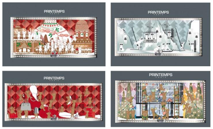 """""""Joyful Obsession, Prada e Printemps presenta il Campagna di Natale""""  """"Joyful Obsession"""", Prada e Printemps presenta il Campagna di Natale Joyful Obsession Prada e Printemps presenta il Campagna di Natale 1 e1383742048579"""