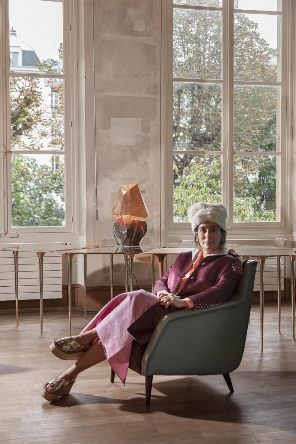 """""""Milano Design Guide, Galleria Nilufar e Nina Yashar - Nina Yashar"""""""