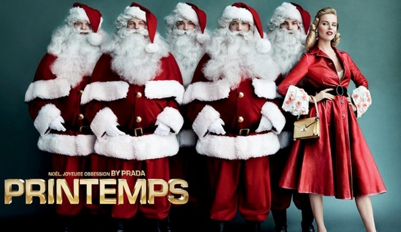 """Joyful Obsession"", Prada e Printemps presenta il Campagna di Natale Printemps prada"