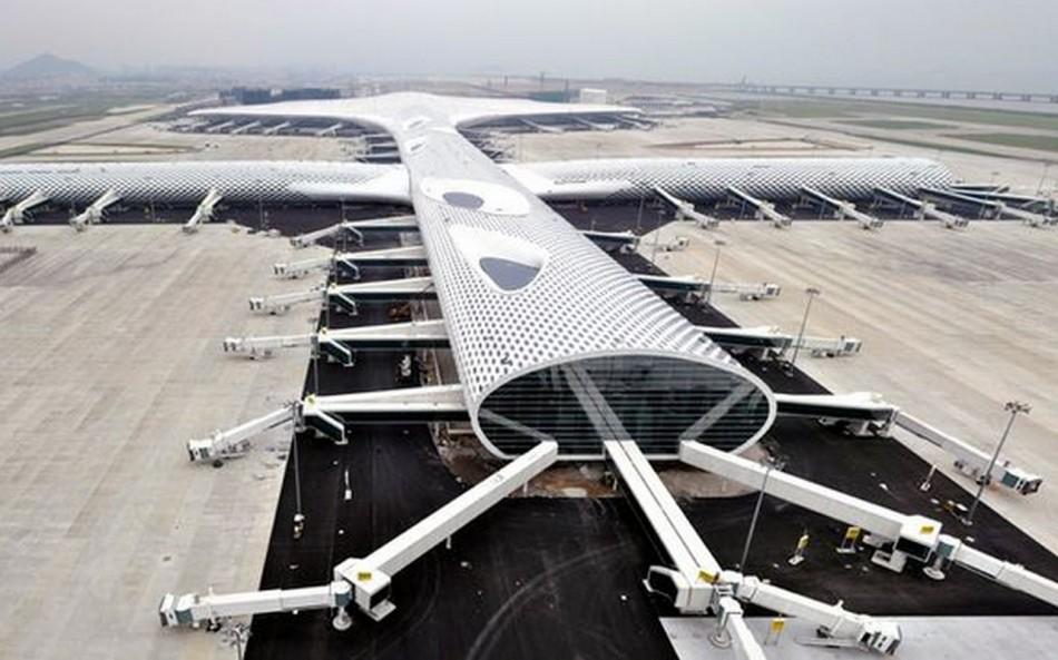 """""""Studio Fuksas Thanksgiving, l'inaugurazione Aeroporto Internazionale di Shenzhen-Aeroporto"""""""