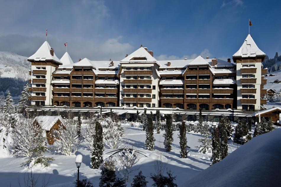 """Top 10 destinazioni sci invernali Vacanze 2014-Alpina Gstaad hotel"""