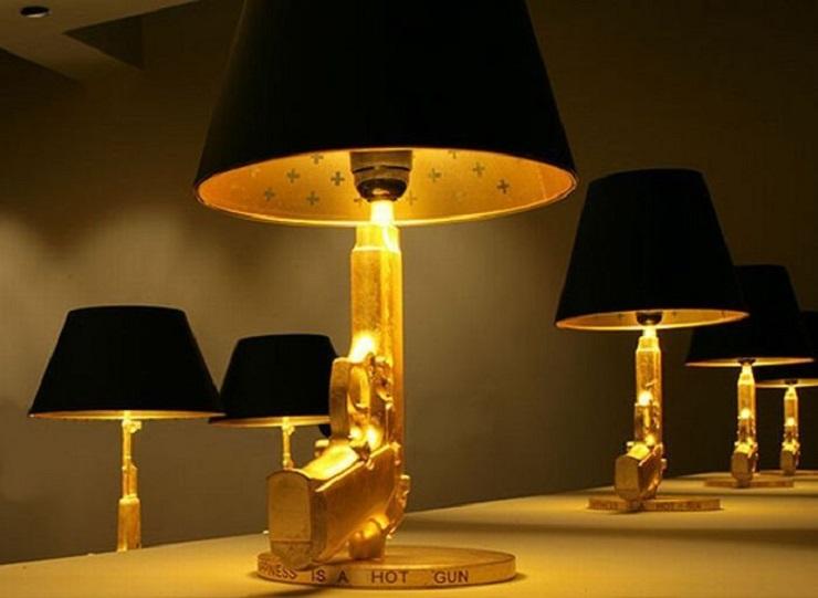 Design ed illuminazione 5 lampade da tavolo per hotel for Lampade da tavolo design famose