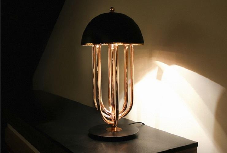 Design ed illuminazione 5 lampade da tavolo per hotel for Lampade da tavolo di design moderne