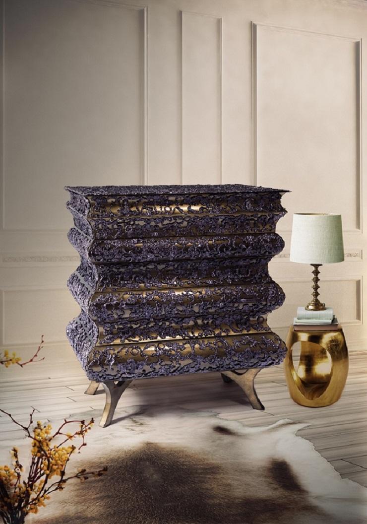Cassettone Crochet di Boca do Lobo  Guida ai più lussuosi regali di Natale Guida ai pi   lussuosi regali di Natale Crochet chest