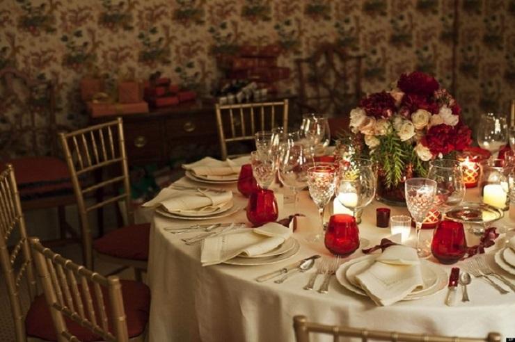 Colorate il tavolo Idee Déco Inverno Home secrets: 10 affascinanti idee déco inverno Home secrets 10 affascinanti idee d  co inverno tavolo